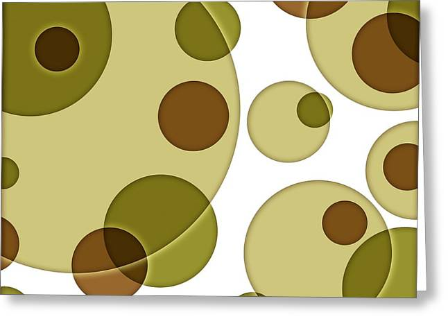 Orbicular Design Greeting Card