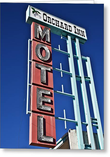 Orchard Inn Motel Greeting Card