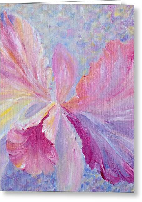 Orchid Greeting Card by Joanne Smoley