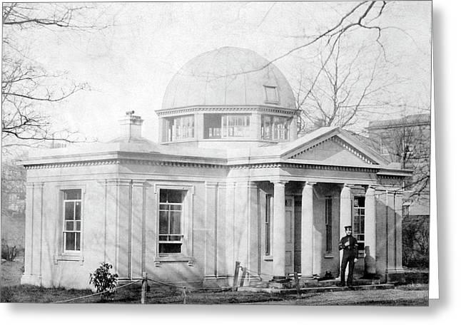 Ordnance Survey Observatory Greeting Card