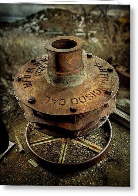 Ore Crusher Greeting Card