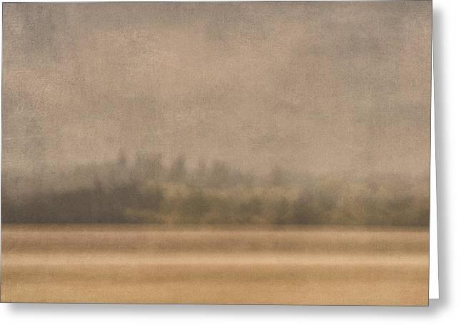 Oregon Rain Greeting Card by Carol Leigh