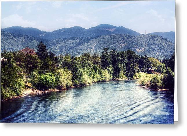 Oregon Views Greeting Card