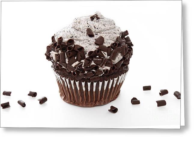 Oreo Cookie Cupcake Greeting Card