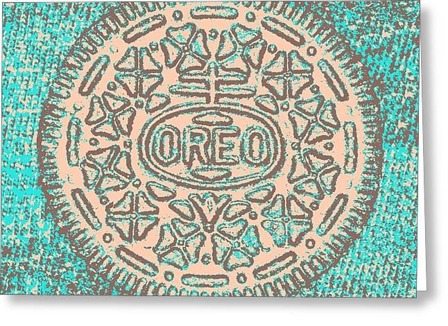 Oreo In Negative Hope 14 Greeting Card by Rob Hans