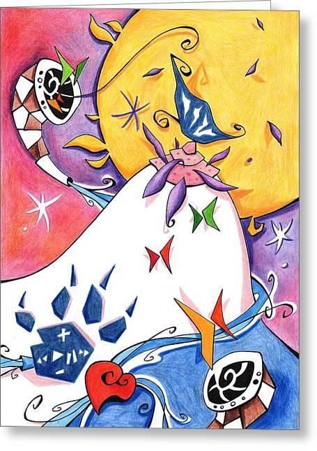 Orgia Dei Sensi - Libro De Poesia - Cuentos Eroticos Greeting Card by Arte Venezia