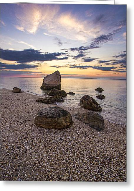 Orient Point Calm Greeting Card