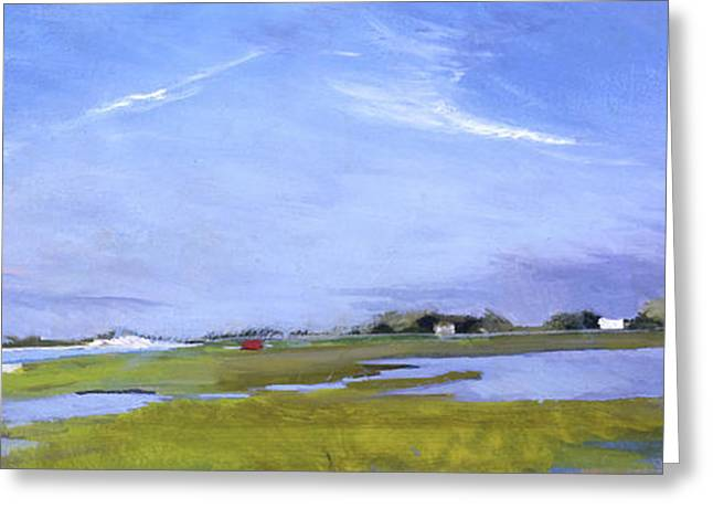 Orient Towards Shelter Island 2 Greeting Card by Stanley Meltzoff / Silverfish Press