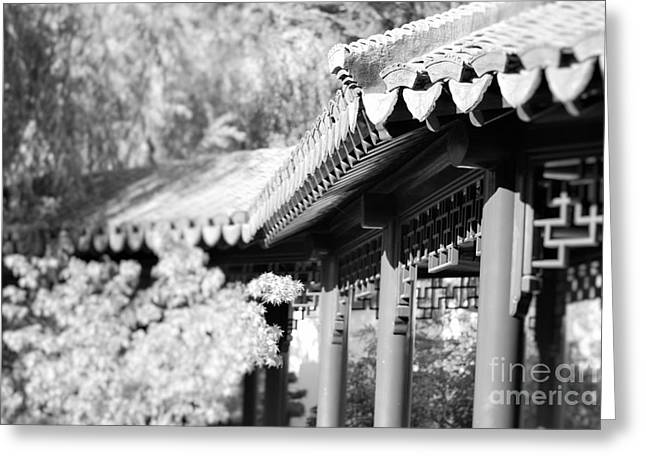 Oriental Roof #2 Greeting Card