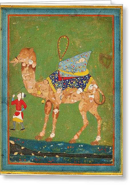 Orientalist Art Greeting Card by Celestial Images