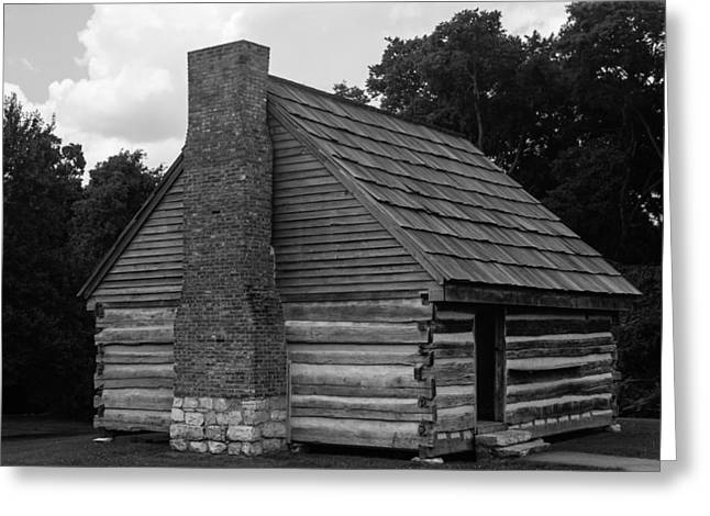 Greeting Card featuring the photograph Original Cabin Of President Andrew Jackson by Robert Hebert