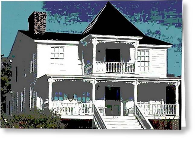 Original Fine Art Digital White House North Carolina Greeting Card