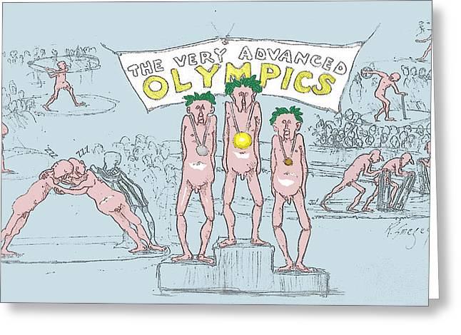 Original Olympics Greeting Card