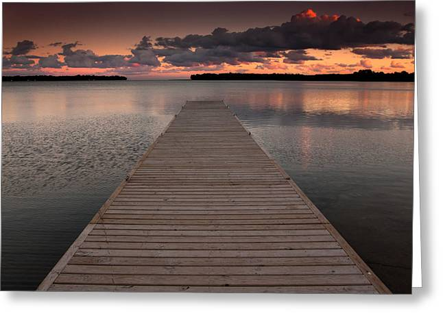Orillia Ontario Greeting Card by Cale Best