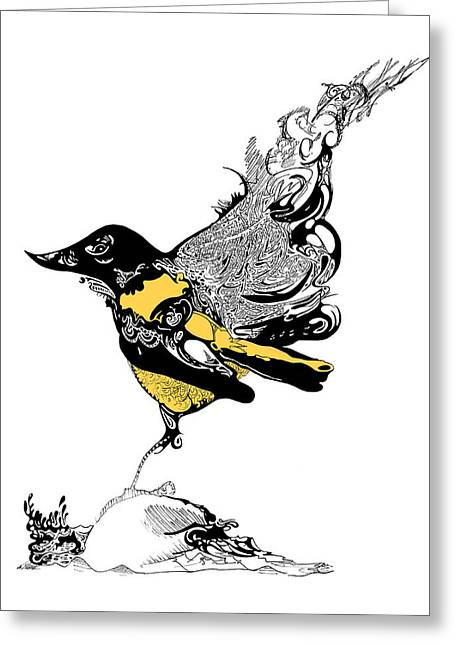 Oriole Greeting Card by Ch' Brown