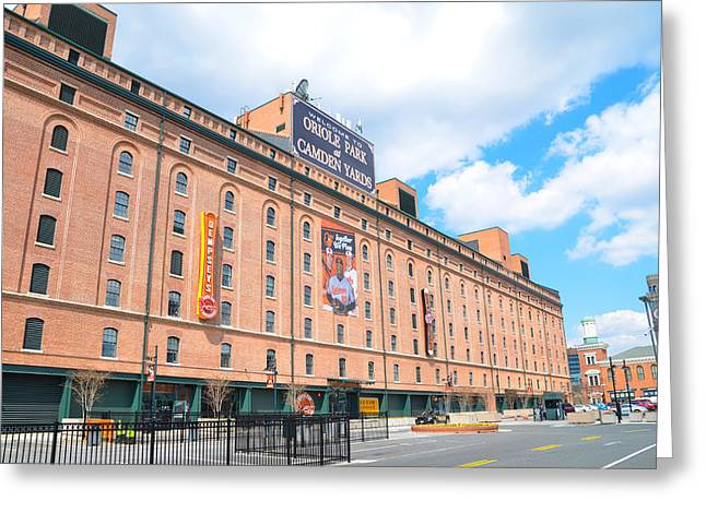 Oriole Park And Camden Yards Greeting Card