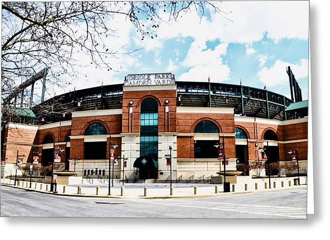 Oriole Park - Camden Yards Greeting Card