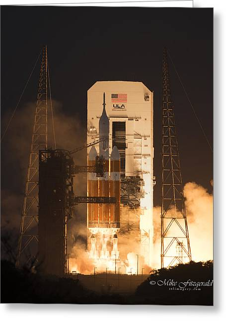 Orion Launch Greeting Card