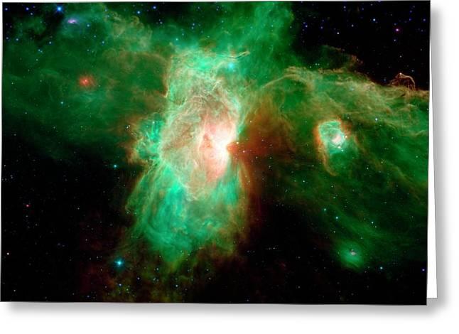 Orion Molecular Cloud Complex Greeting Card by Nasa/jpl-caltech