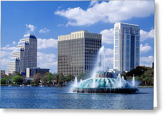 Orlando, Florida, Usa Greeting Card