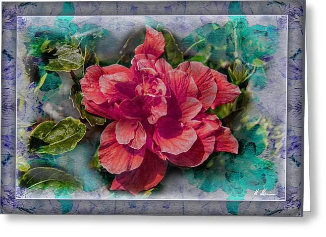 Ornamental Marshmallow Greeting Card by Hanny Heim