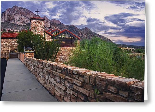Oro Valley United Church Of Christ Greeting Card by Dave Dilli