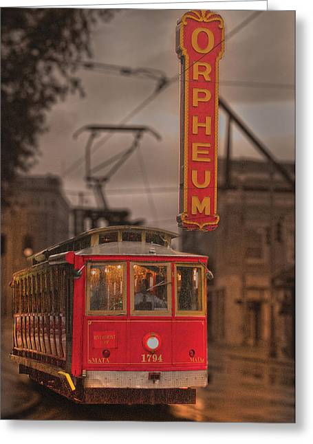 Orpheum Theater Memphis Greeting Card
