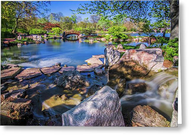 Osaka Japanese Garden Greeting Card