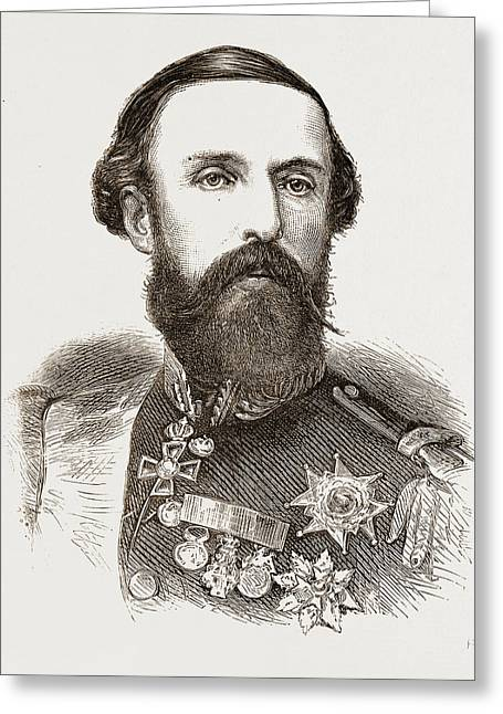 Oscar II., King Of Sweden And Norway Greeting Card