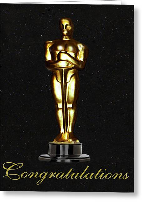 Oscars Congratulations Greeting Card