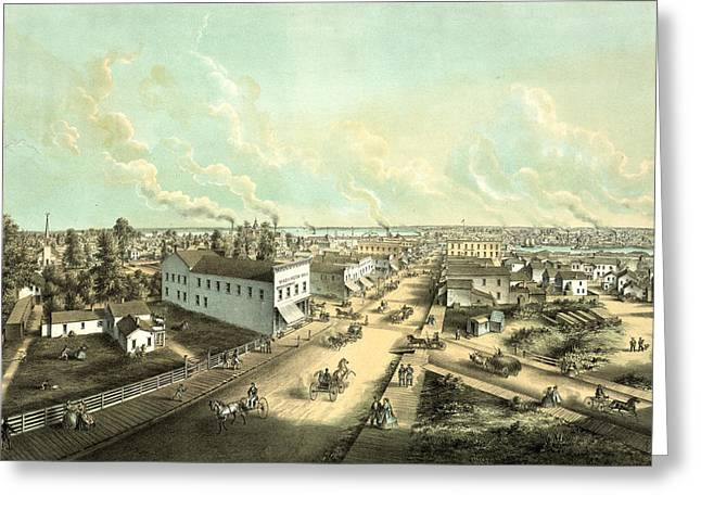 Oshkosh, Wis. From H.l. Cottrills Block Lith Greeting Card