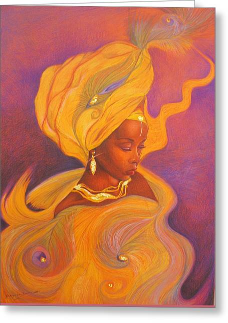 Oshun Goddess Greeting Card
