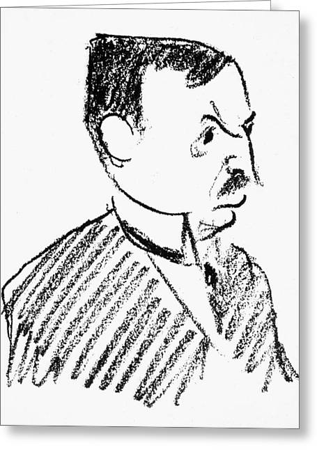 Oskar Pfister (1873-1956) Greeting Card
