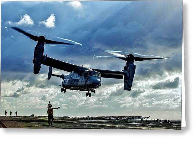 Osprey Approach Greeting Card