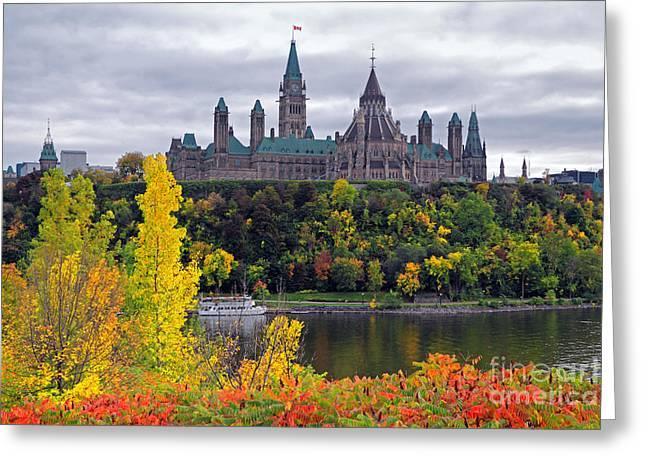 Ottawa Parliament Hill Greeting Card