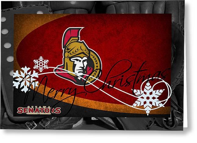 Ottawa Senators Christmas Greeting Card