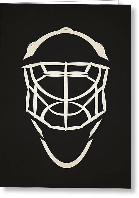 Ottawa Senators Goalie Mask Greeting Card