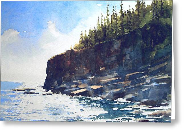 Otter Point Greeting Card