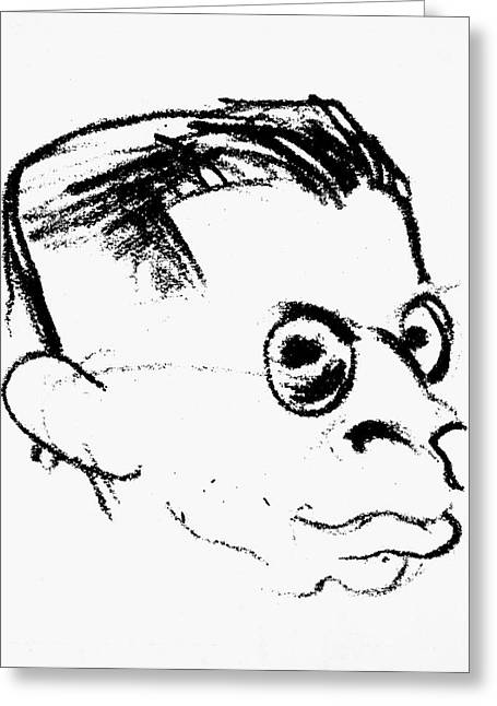Otto Rank (1884-1939) Greeting Card