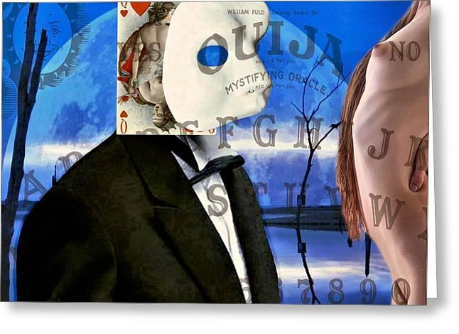 Ouija Greeting Card by James Stough