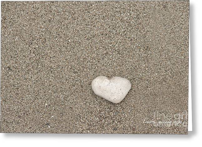 Our Beach Memories Greeting Card by Artist and Photographer Laura Wrede