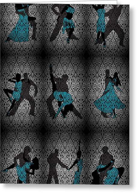 Our Dance 3 Greeting Card