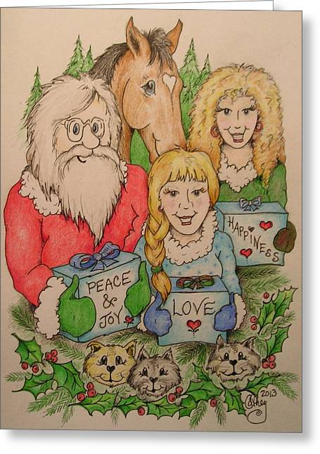 Our Gifts Greeting Card by Catherine Howley