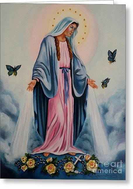 Our Lady Of Grace I Greeting Card