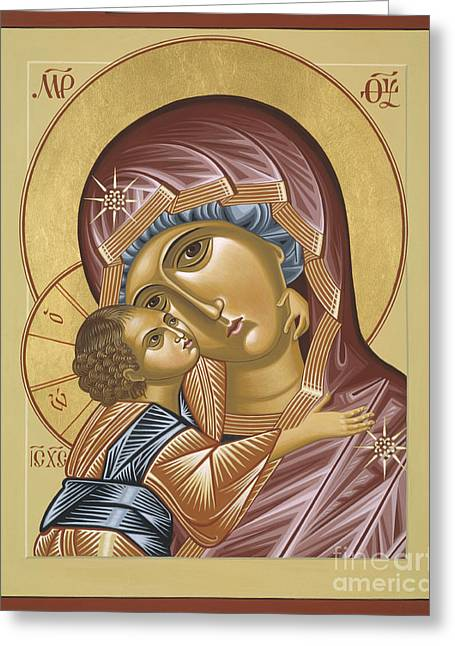 Our Lady Of Grace Vladimir 002 Greeting Card