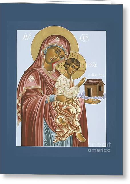 Our Lady Of Loretto 033 Greeting Card