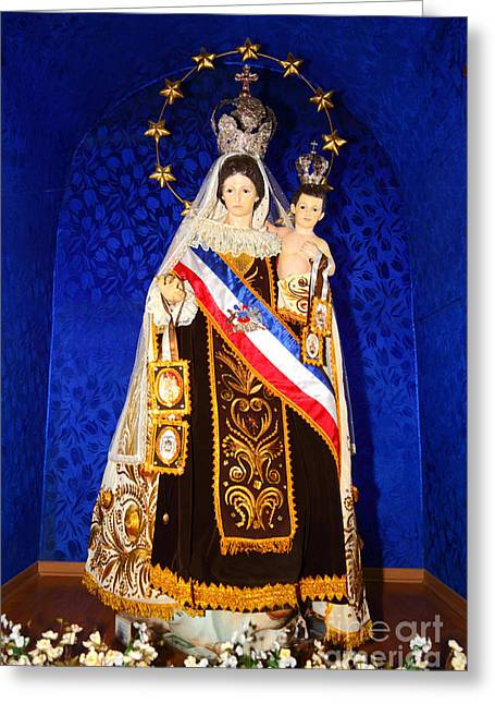 Our Lady Of Mount Carmel Chile Greeting Card