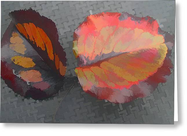 Our Maker's Palette Greeting Card by Barbara McDevitt