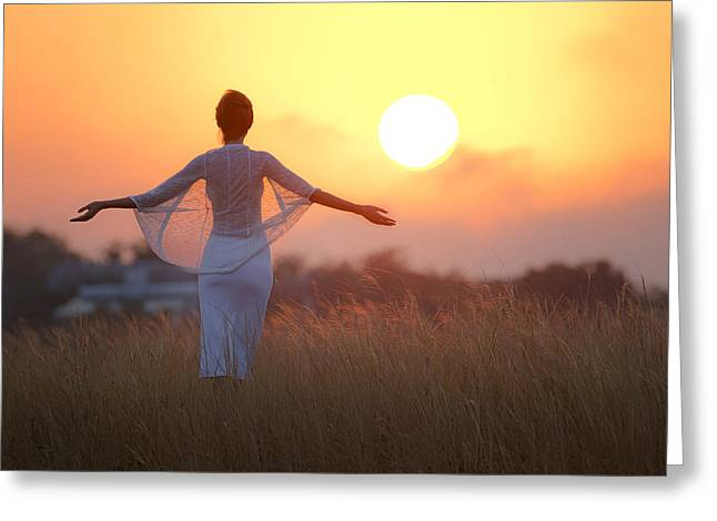 Our Sunrise Greeting Card