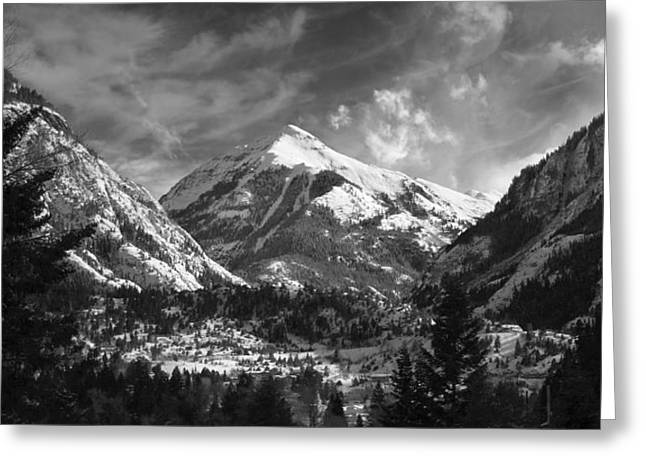 Ouray Colorado Greeting Card by Brett Pfister